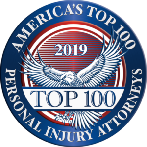 America's Top 100 Personal Injury Attorneys 2019®️ Recipient Award